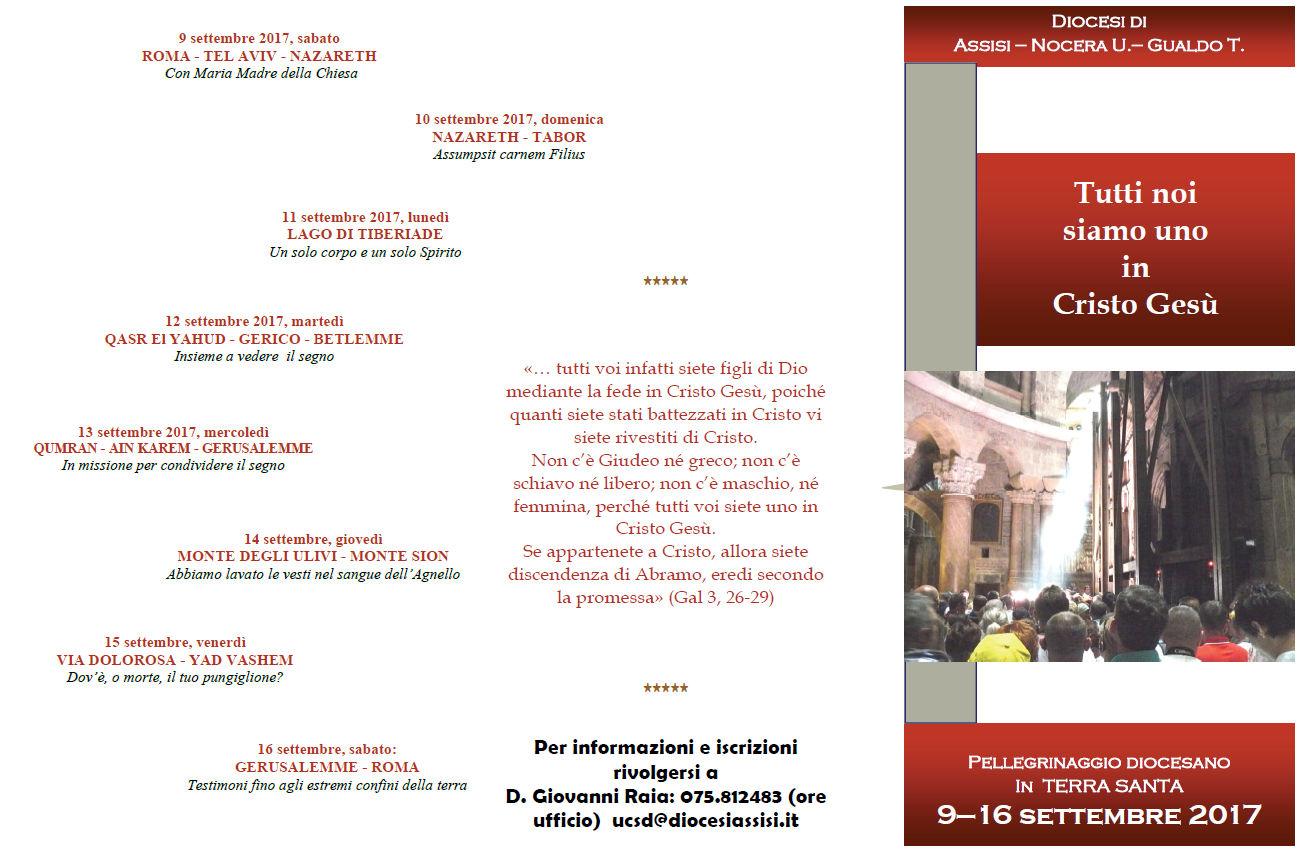Calendario Liturgico Qumran.Assisi Ofm News Tutti Noi Siamo Uno In Cristo Gesu